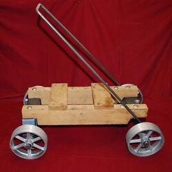 Maytag And Small Engine Truck Cart Kit Briggs Hit Miss Axle Wheel Gas Motor