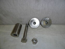 Case/ingersoll Front Axle Pin With Hardware 100 316 Stainless Steel