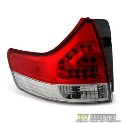 For 2011 2012 2013 2014 Toyota Sienna Tail Light Brake Lamp Outer Lh Driver Side