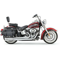 Chrome Vance And Hines Big Shots Long Exhaust Pipes System 12-2017 Harley Softail