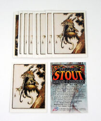 Lot Of 10 1996 Comic Images William Stout Saurians And Sorcerers Promo Card