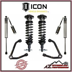 Icon 1-3 Lift Stage 2 Suspension System Small Taper For 2007-2018 Gm 1500 Truck