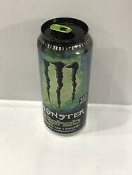 Monster Energy Drink Rehab Green Tea Empty 15.5oz Discontinued Can