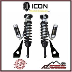 Icon Remote Reservoir Front Coilover Shock Kit For 2010-2021 Toyota 4runner