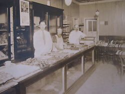 Antique Bakery March 1926 Brooklyn Ny Or Baltimore Pastry National Cash Photo