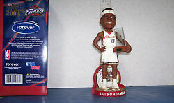 2004 Lebron James White Jersey Rookie Of The Yr. Award Bobblehead Only 2004 Made