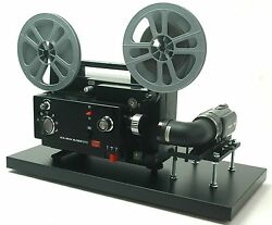 Elmo Movie Projector Telecine Video Transfer Unit Dual 8 Full 2k Hd Ntsc Camera
