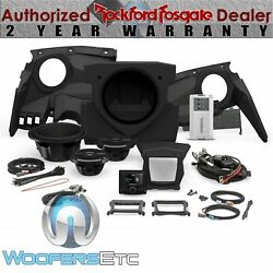 Rockford Fosgate X317-stage3 Audio Kit For Select Can-am Maverick X3 Models New