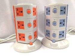 Safe More Smart 10-outlet With 4-usb Outlet Surge Protection Power Trip Sockets