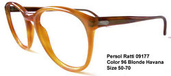 RARE  NEW REAL VINTAGE PERSOL RATTI 09177 Color 96 Blonde Havana