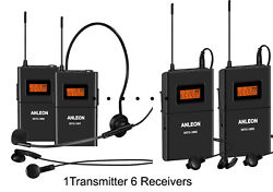 Wireless Acoustic Transmission System For Tour Guide With 40 Receivers