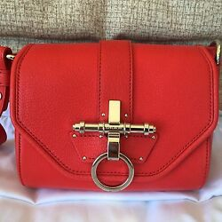 Givenchy Obsedia Red Sugar Shoulder Crossbody Bag $1555