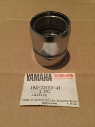 Yamaha Yas1 As1 1966 1967 1968 Twin Cylinder Nut Outer Front Fork 183 N.o.s