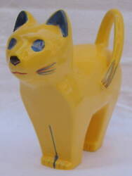 MAGNIFICENT Art Deco French Porcelain Figurine of a Standing Cat