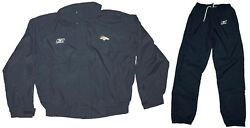 Jacket And Pants - Nfl Coach/staff Game Issue Waterproof Rain/wind Suit Broncos