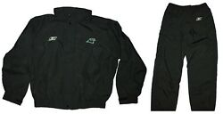 Jacket And Pants - Nfl Game Issue Sideline Waterproof Rain Suit - Panthers