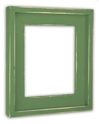 Farmhouse Leafy Green Picture Frame - Solid Wood