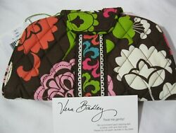 Vera Bradley LOLA KISS & SNAP WALLET Clutch COIN FOR PURSE Tote BACKPACK Bag NWT