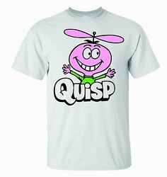 Quisp Cereal T-shirt  Not Quake, Boo Berry Fruit Brute See Our Other Auctions