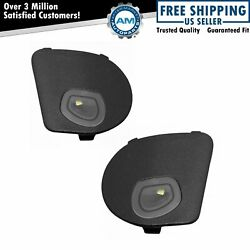 Mopar Oem 68302825aa Side View Mirror Puddle Light Lh Rh Pair For Ram Truck New