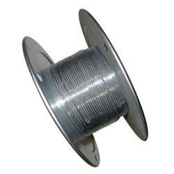 3/16 .187 X 1000and039 Stainless Steel Aircraft Cable Reel 7x19 Wire Rope