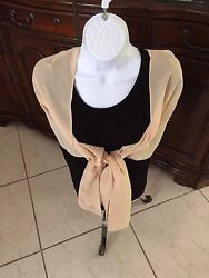 Gold Wrap Shawl for Evening for Wedding Mother of the Bride Gold Champagne $4.95