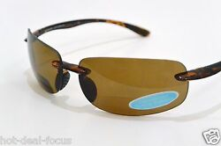 POLARIZED BIFOCAL READING SUNGLASSES with POLYCARBONATE LENS powers 2.50 3.00 $35.00