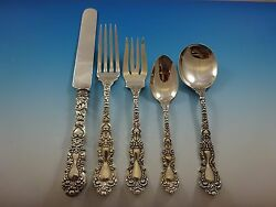 Imperial Chrysanthemum By Gorham Sterling Silver Flatware Service Set 30 Pieces