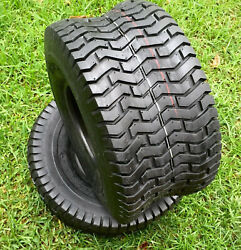 2 Two 18x9.50-8 D265 Turf Tubeless Tires 18 950 8 Lawn Tractor Mower Tires