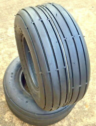 2 Two 18x8.50-8 D837 Rib Tubeless Lawn Mower Tractor 18 850 8 Free Shipping