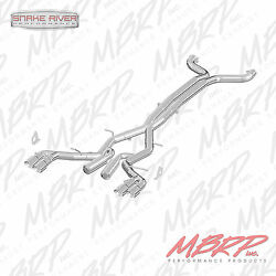 Mbrp 3 Quad Tip Cat Back Race Exhaust 2016-2019 Chevy Camaro 6.2l 6 Speed