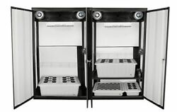 SuperCloset SuperTrinity LED Cabinet- indoor garden to grow bountiful yields.