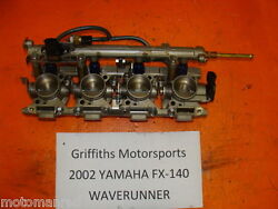 02 03 04 Yamaha Cruiser Fx140 Fx 140 Ho 60e Fuel Injectors Throttle Bodies Ar230