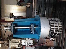 Fanblower housing unit with squirrel cage fan.