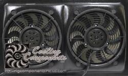 26 Dual Fan Set Up For 1970 And Up Muscle Cars
