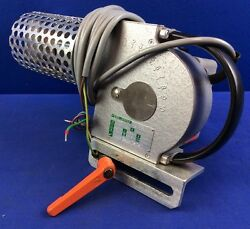 Karl Leister Hotwind Hot Air Blower W/ 3w Knife Nozzle And Mounting Bracket