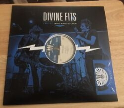 Divine Fits Vinyl Lp Live At Third Man Records Black And Blue Colored Rare Spoon
