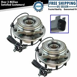 Timken Wheel Bearing And Hub Assembly Front Pair Lh And Rh Set For Ford F350 Drw New