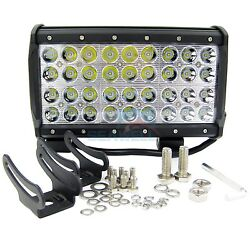 108w Cree Led Marine Light Bar Spot For Boat Offroad Truck Suv 4 Row 10 Ip67