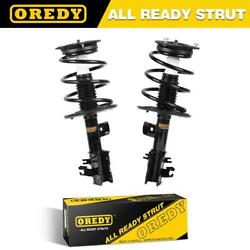 Oredy 2x Front Complete Struts And Springs W/ Mounts For Nissan Altima 4cyl 07-12