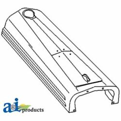 A-8n16612 Made To Fit Ford Tractor Hood 8n 9n