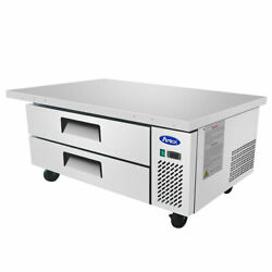 New 60 Chef Base Refrigerated Stainless Steel Cooler Nsf Atosa Mgf8452gr 4709