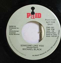 Country Nm 45 Michael Black Someone Like You Girl You Don#x27;T Know Me On Paid $6.00
