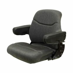 Made To Fit Ford Genesis Row Crop 80 4wd Tractor Series Km 1000/1003 Seat W/ Ori