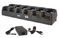 Power Products 12-unit Rapid Charger For Harris Xg-100p P7100 P7200 700p Radios