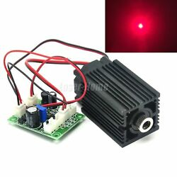 700mw 635nm 638nm Red 12v Focusable Dot Multimode Diode Laser Module Driver Ttl