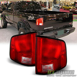 1994-2004 Chevy S10 Gmc S15 Sonoma Tail Lights Brake Lamp Left+right Aftermarket