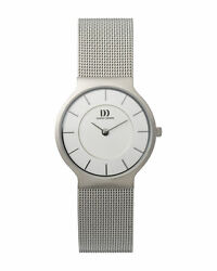 Danish Design Iv62q732 Silver Dial Stainless Steel Quartz Classic Womenand039s Watch