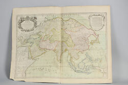Antique 1783 French Map Of Asia Including China Indoneseia India