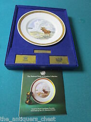 Royal Copenhagen And U.s. Historical Societyand039s National Parks Yellowstone Plate
